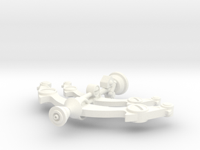 Blast Attack Crossbow  in White Processed Versatile Plastic