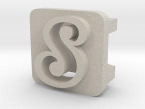 BandBit S1 for Fitbit Flex in Natural Sandstone