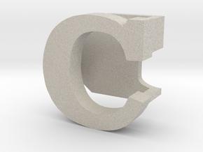 BandBit C1 for Fitbit Flex in Natural Sandstone