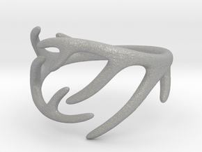 Antler Ring No.2(Size 8) in Aluminum