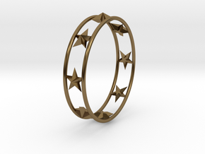 Ring Of Starline 14.1 mm Size 3 in Polished Bronze