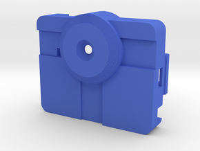 PureThermal 1 Case - Part 1/2 in Blue Processed Versatile Plastic