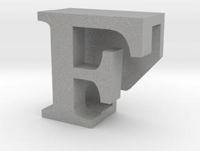 BandBit F, Fitbit Flex (Fits parallel to strap.) in Aluminum