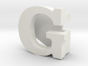 BandBit G for Fitbit Flex in White Natural Versatile Plastic