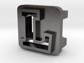 BandBit L1 for Fitbit Flex in Polished Nickel Steel