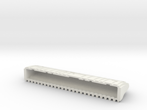Sci-Fi Walling System 100STD in White Natural Versatile Plastic