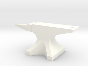 Anvil in White Strong & Flexible Polished
