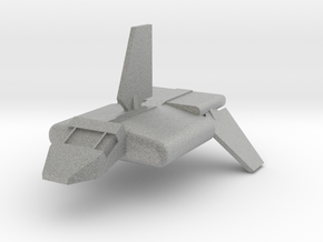 Imperial Transport Shuttle in Metallic Plastic