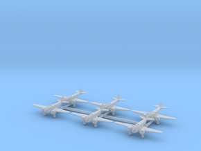 Caproni Ca.311 (with landing gear) 1/700 in Smooth Fine Detail Plastic