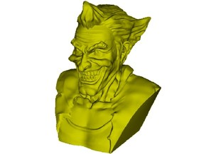 1/9 scale Joker fictional supervillain bust in Frosted Ultra Detail