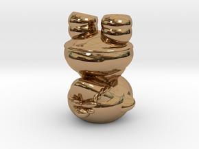 Dwarf N0gg1n in Polished Brass