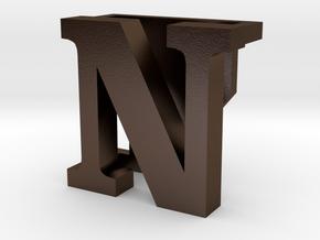 BandBit N for Fitbit Flex in Polished Bronze Steel
