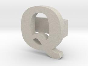 BandBit Q for Fitbit Flex in Natural Sandstone