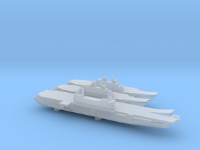 ITS Aircraft Carrier Set, 3 pc, 1/6000 in Smooth Fine Detail Plastic