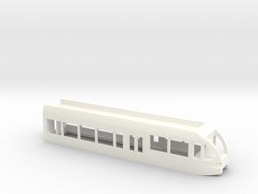 GTW Scale TT Steurerwagen in White Processed Versatile Plastic