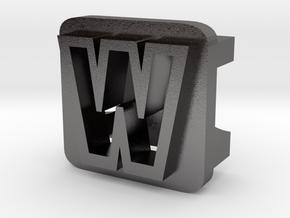 BandBit W2 for Fitbit Flex in Polished Nickel Steel