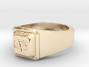 ClassRing7.5 in 14K Yellow Gold