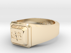 ClassRing8 in 14k Gold Plated
