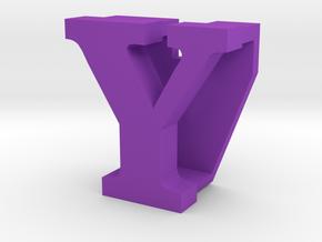 BandBit Y1, Fitbit Flex (Fits parallel to strap.) in Purple Processed Versatile Plastic