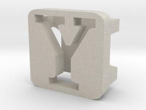 BandBit Y2 for Fitbit Flex in Natural Sandstone