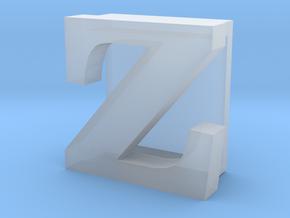 BandBit Z, Fitbit Flex (Fits parallel to strap.) in Smooth Fine Detail Plastic