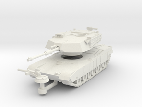 MG144-US01 M1 MBT in White Natural Versatile Plastic