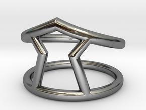 Urgency Ring in Premium Silver