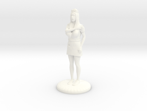 Terrrified Nurse 28 mm in White Processed Versatile Plastic