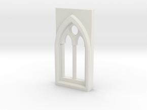building details serie - Gothic Window 3mm Type 2 in White Natural Versatile Plastic
