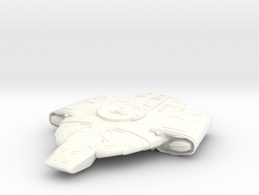 Defiant Class in White Strong & Flexible Polished