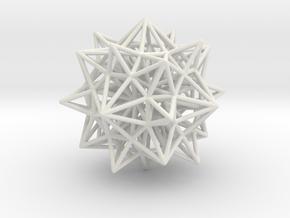 Geometric Shape Mht3dd 195 3cm in White Strong & Flexible