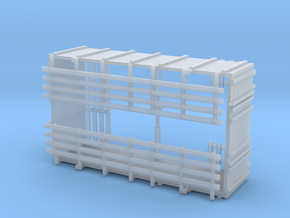 Grain Body with Livestock Racks in Smooth Fine Detail Plastic