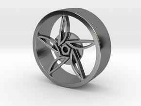 F80 Wheel in Fine Detail Polished Silver