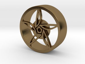 F80 Wheel in Polished Bronze