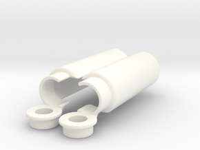 shock absorber cover in White Processed Versatile Plastic