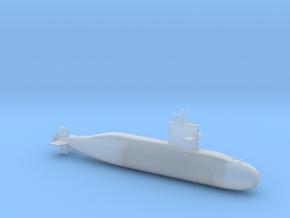 1/600 Zwaardvis / Hai Lung Class Submarine in Smooth Fine Detail Plastic