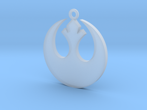Star Wars Rebel Alliance Charm in Smooth Fine Detail Plastic