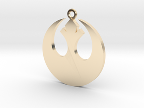 Star Wars Rebel Alliance Charm in 14K Yellow Gold