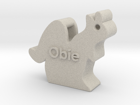 Big Obie the squirrel in Natural Sandstone