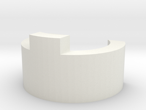 G&G M14 C Clip 00 Single in White Natural Versatile Plastic
