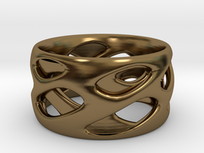 Ring Eye in Polished Bronze