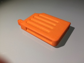 Prop Holotape, Orange Part, 2 of 2 in Orange Processed Versatile Plastic