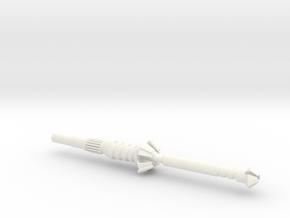 DECEPTICON HUNTER CLUB [5mm port] in White Processed Versatile Plastic