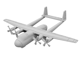1:500 - Armstrong Whitworth Argosy [A][x2] in Smooth Fine Detail Plastic