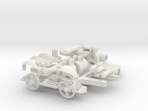 Skull Inner Mechanism 0.3 in White Natural Versatile Plastic