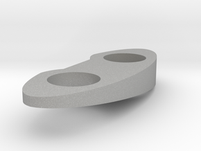 Top Piece - Right - Solid 7.5 Deg in Raw Aluminum