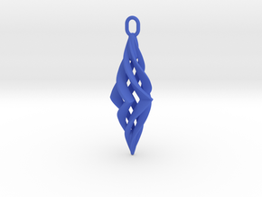 Vision Pendant (small) in Blue Processed Versatile Plastic