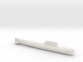 Hotel-Class SSBN, Full Hull, 1/1800 in White Natural Versatile Plastic