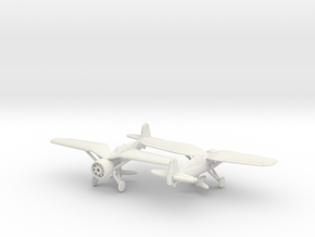 1/200 PZL P-24 no spats in White Natural Versatile Plastic