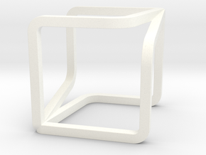 YOUCUBE Charms. Pure Elegance. in White Processed Versatile Plastic